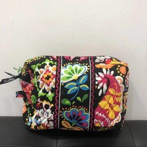 New Vera Bradley large cosmetic bag Disney
